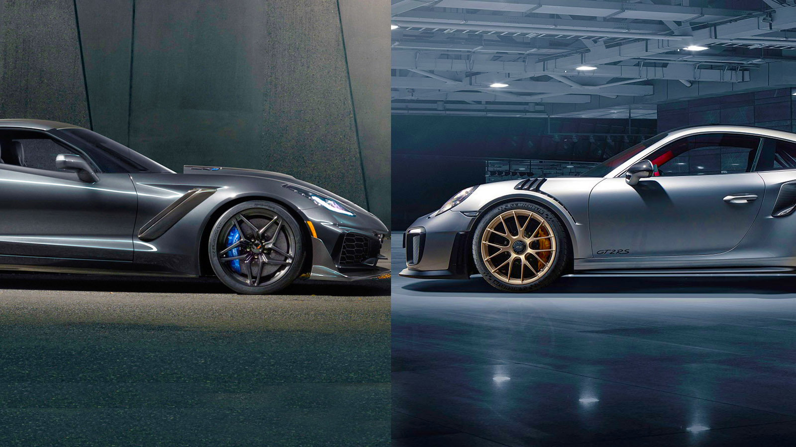 GT2 RS vs the 2019 Corvette ZR1