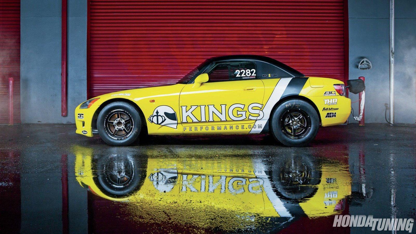 Honda S2000 Lives for the Drag Strip