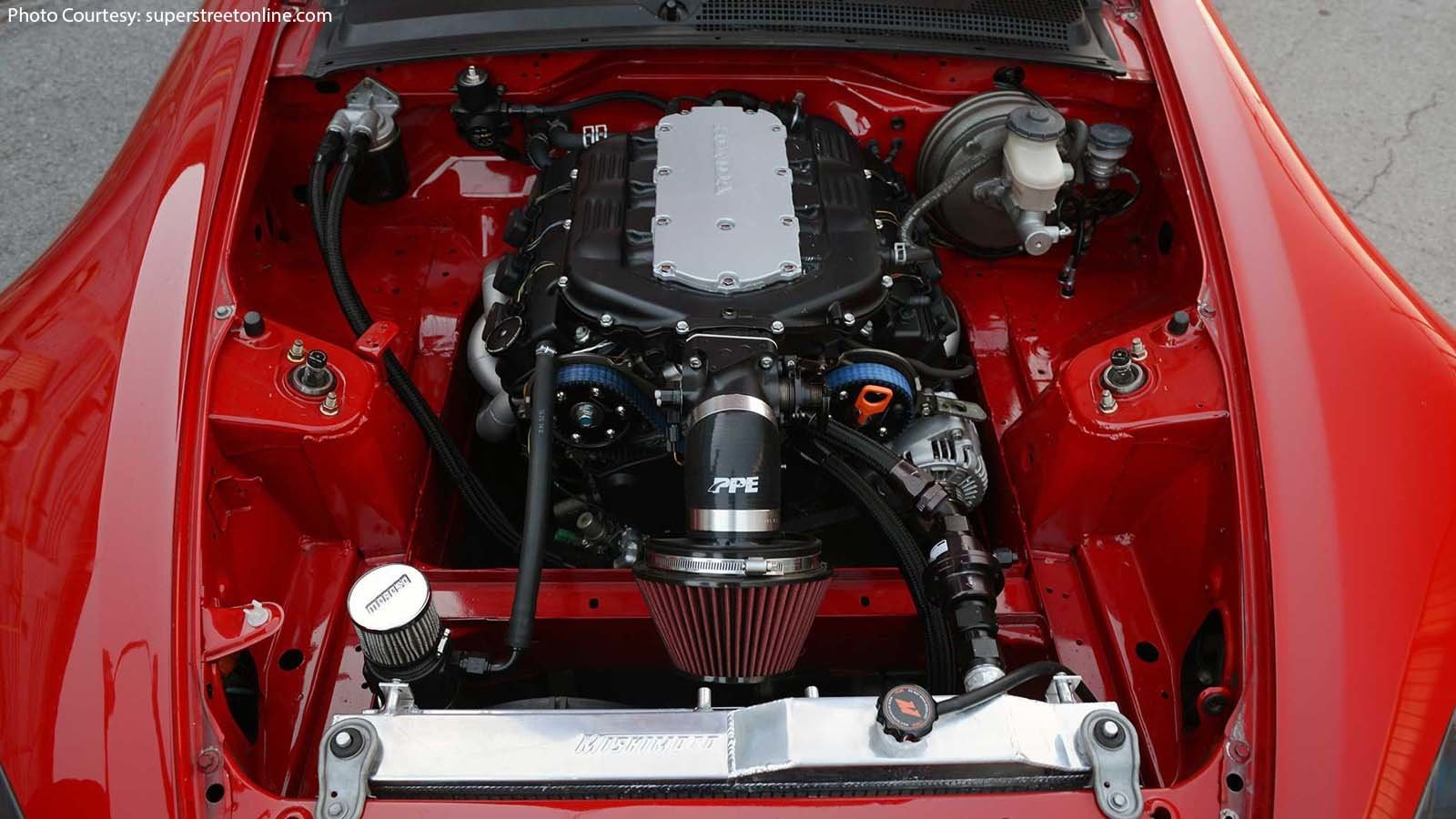 Gorgeous Red Honda S2000 is a Stylish Build