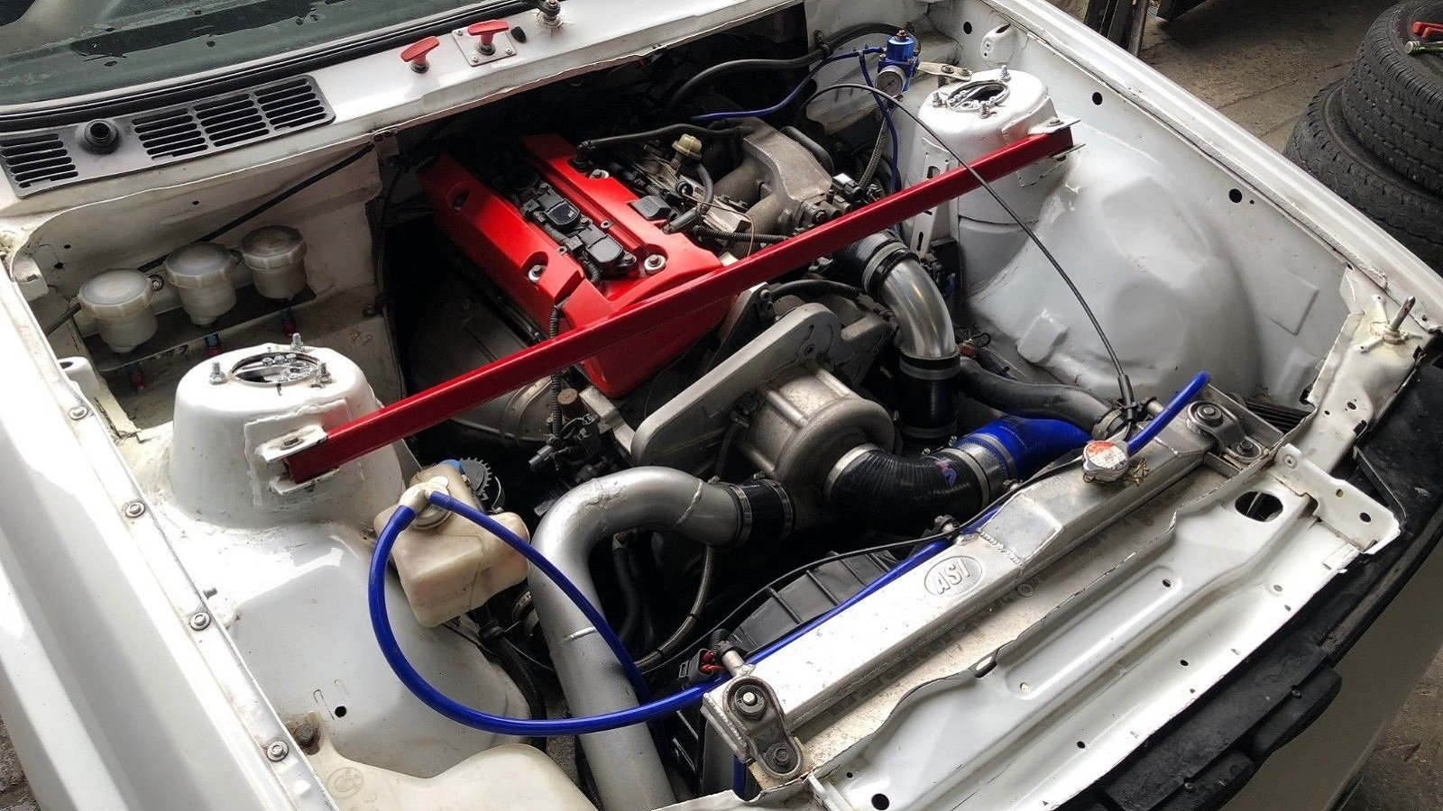 Odd Couple: BMW E30 Receives Blown S2000 Heart