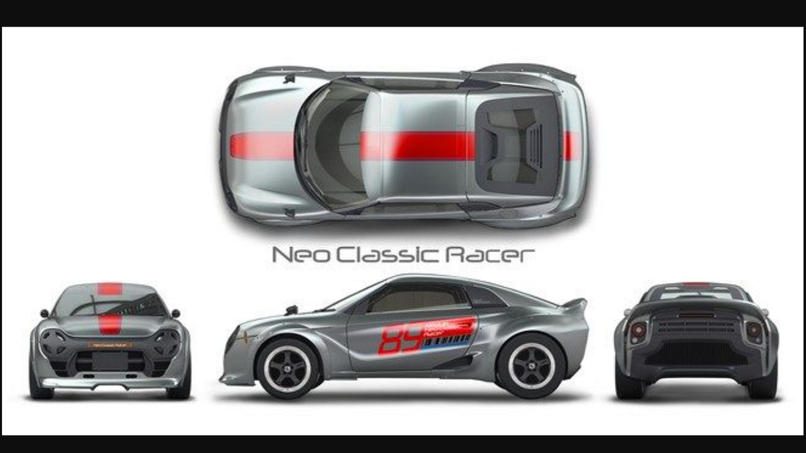 S660 Neo Classic Racer Concept Kei Car