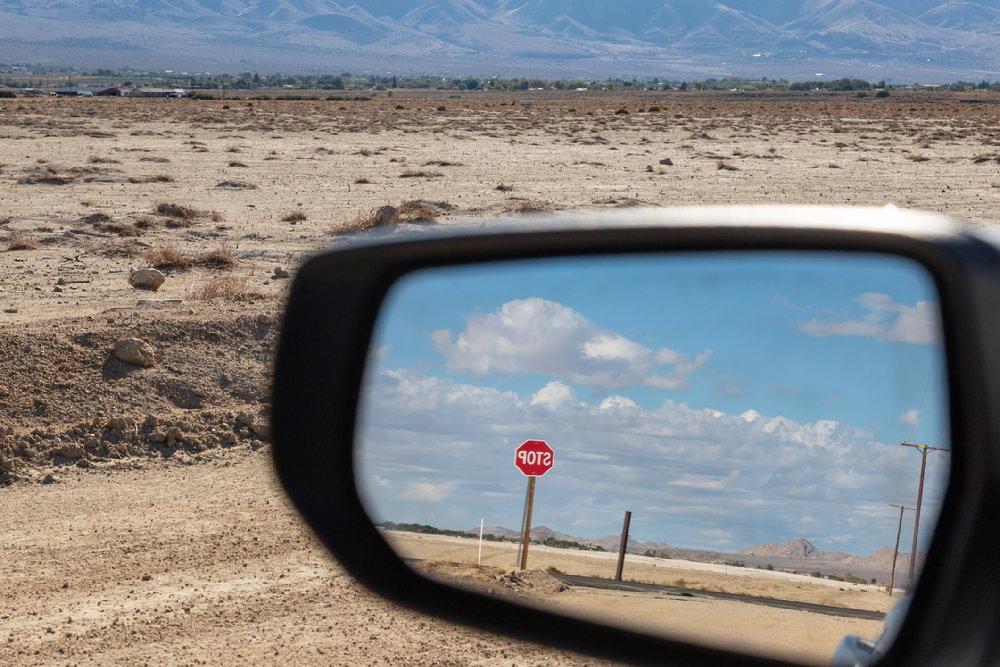 Водительское зеркало заднего вида