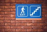 exit sign for escape