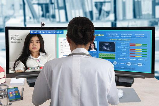 patient consultation via telemedicine