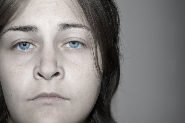woman in despair