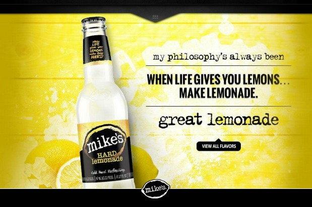 advertisement: when life gives you lemons, make lemonade