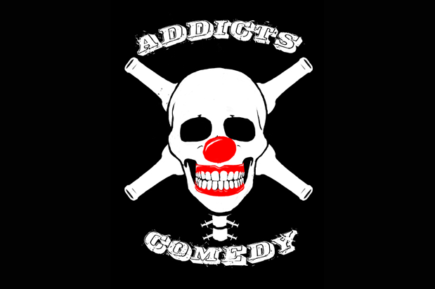 addicts comedy logo