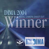 DIMA 2004 Digital Camera Shoot-Out Award