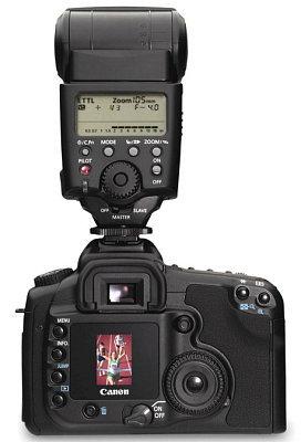 Canon EOS 20D with Canon 550EX speedlight, image (c) 2004 Steve's Digicams