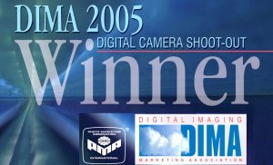 Winner of DIMA 2005 Digital Camera Shootout
