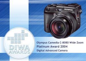 DIWA Award for Olympus C-8080