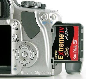 Canon EOS Digital Rebel XTi / EOS 400D, image (c) 2003 Steve's Digicams