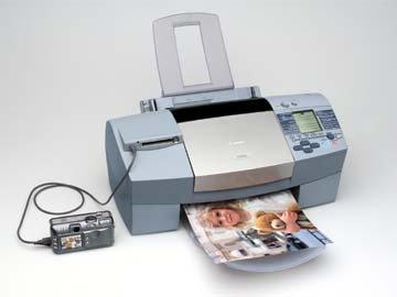 Canon PowerShot S40 and S820D Bubble Jet Printer