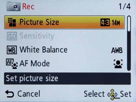 Panasonic DMC-SZ5-shoot-rec-menu1.jpg
