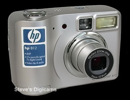 Click to take 360-degree QTVR tour of the HP PhotoSmart 812