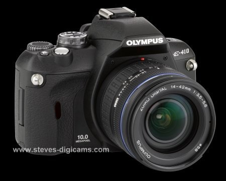 Click to take a QuickTime VR tour of the Olympus EVOLT E-410 Digital SLR