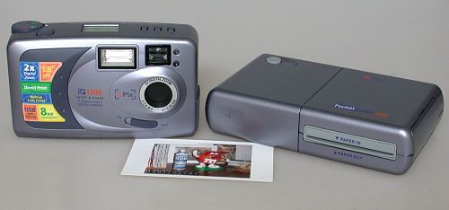 SiPix SP 1300 with the SiPix Pocket Color 200 Printer