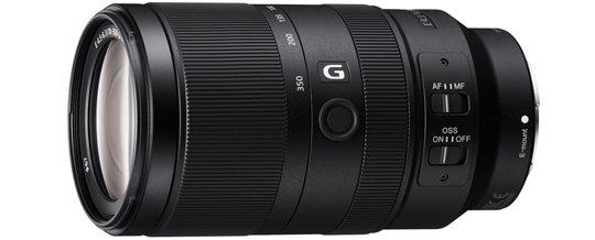 Sony 70-350mm G Series E Mount Lens