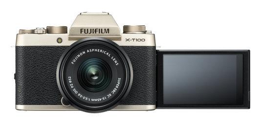 X-T100_Gold_Front_MonitorUp+XC15-45mmB.jpg