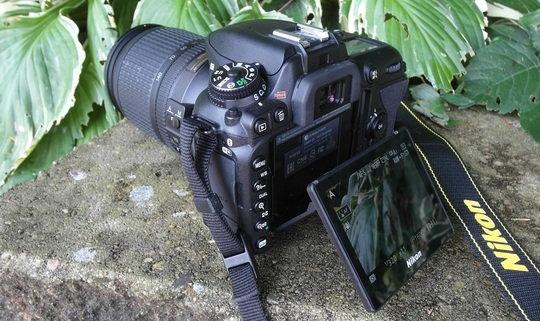 Nikon D7500 back left angle LCD extended.jpg