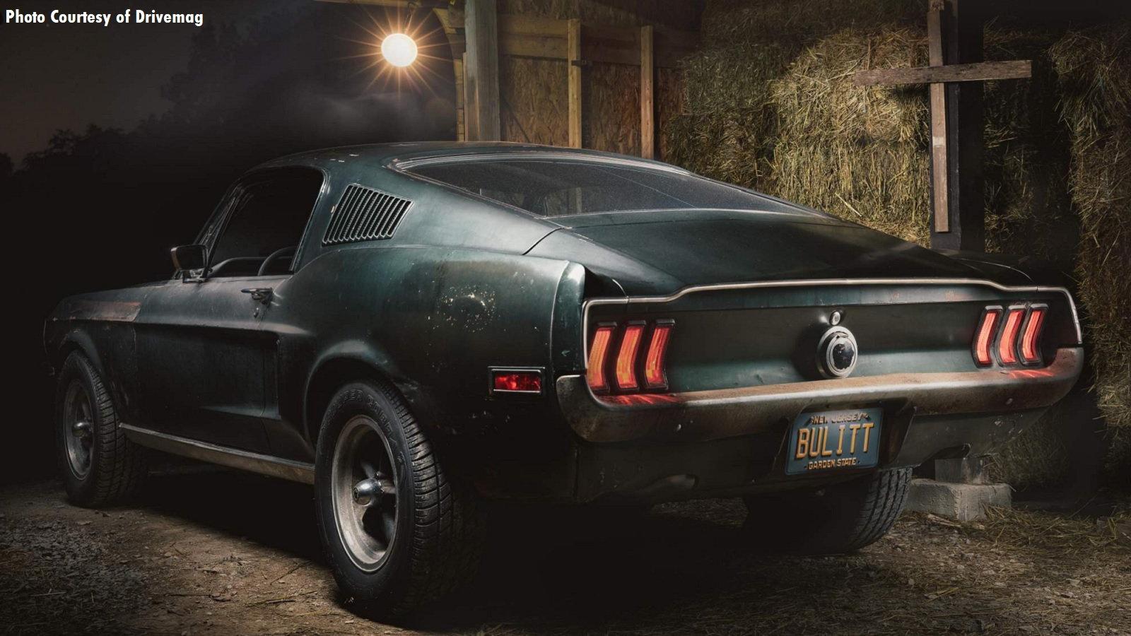 Bullitt Mustang Back After 40 Years