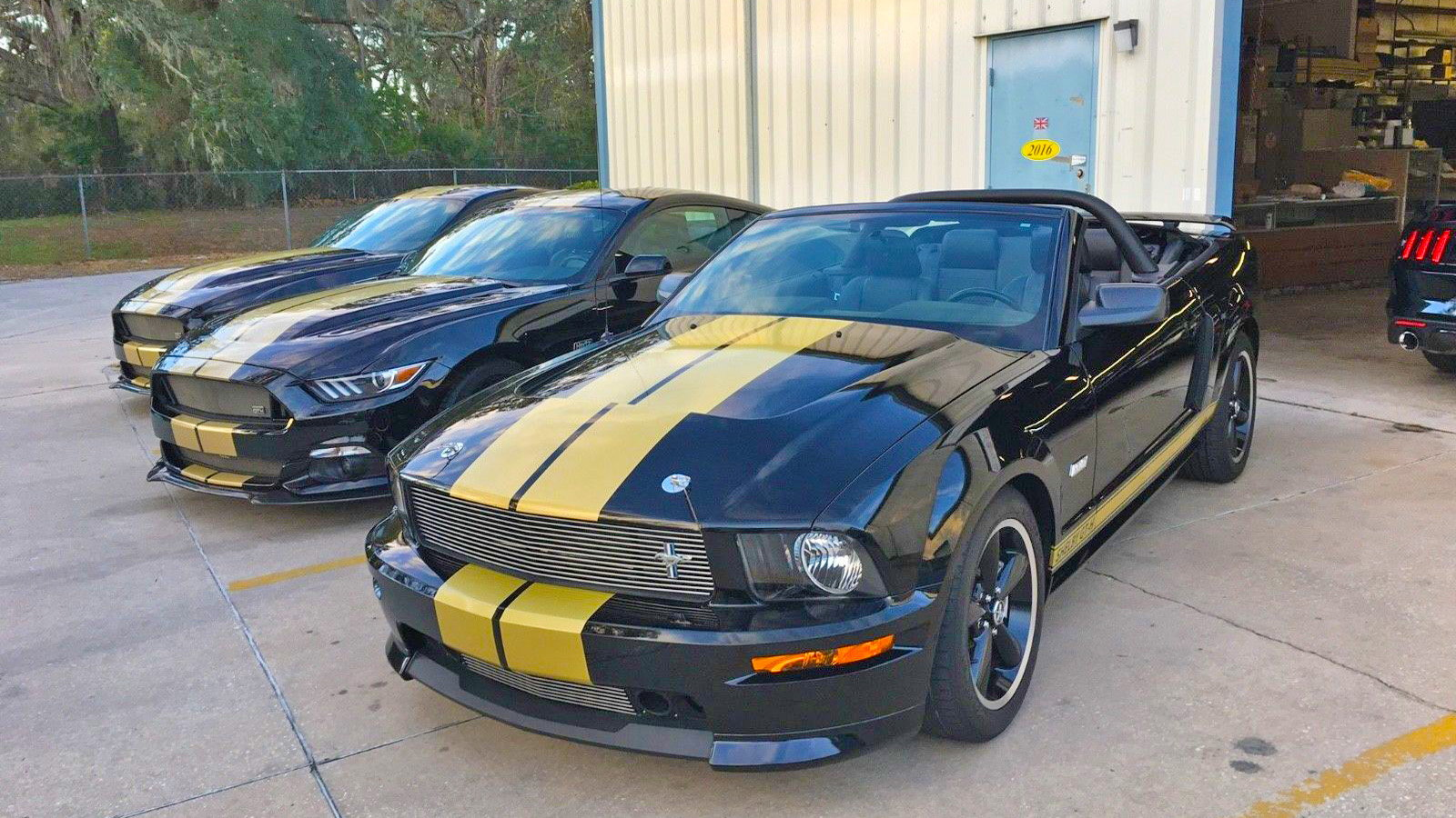 Which of these Hertz Shelby Mustangs Would You Kiss, Marry, or Divorce?