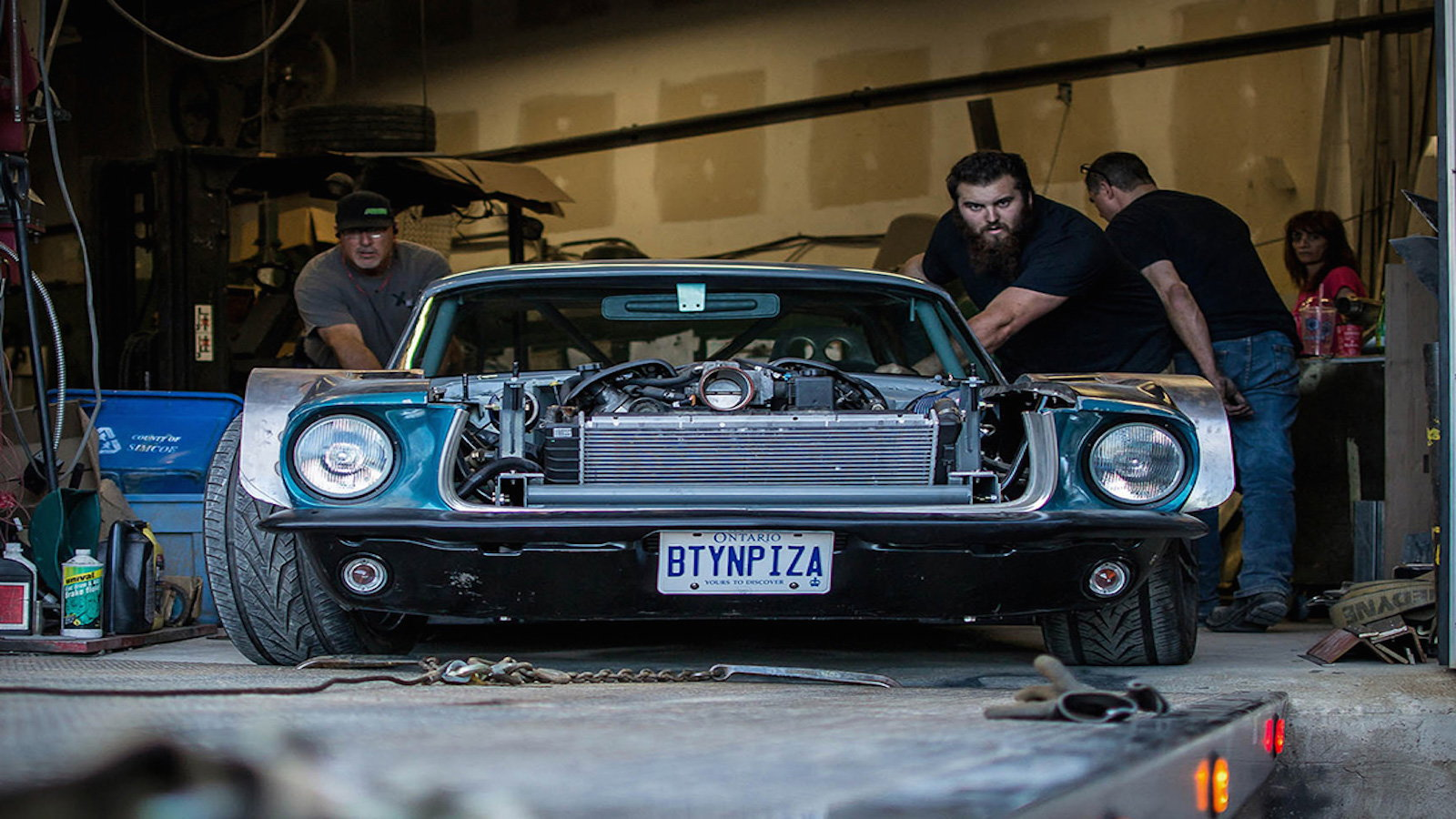 A Corvette Powered Mustang That Mad Max Would Love