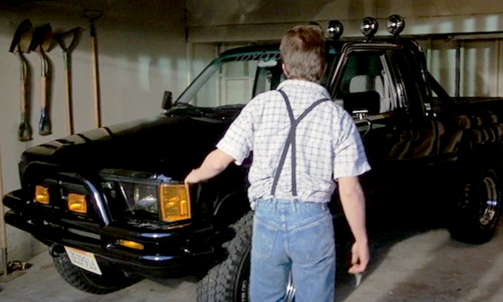 Back To The Future Marty Mcfly Toyota Pickup Trucks Yotatech