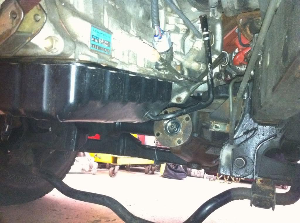 Dirty 4WD fluid