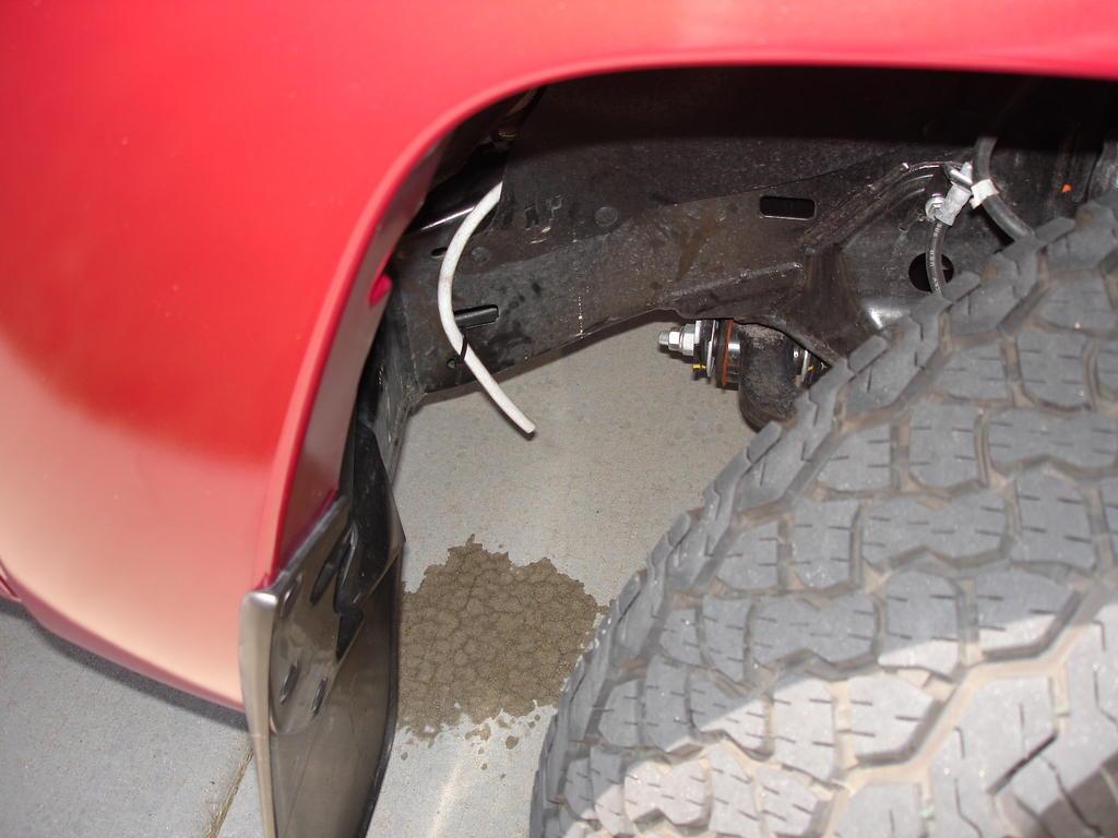 Toyota 4Runner drip line