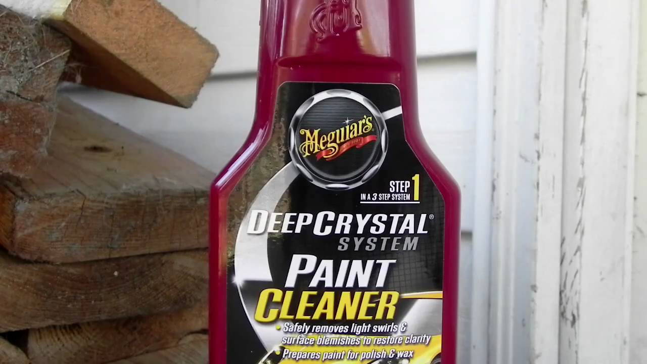 Car paint cleaner