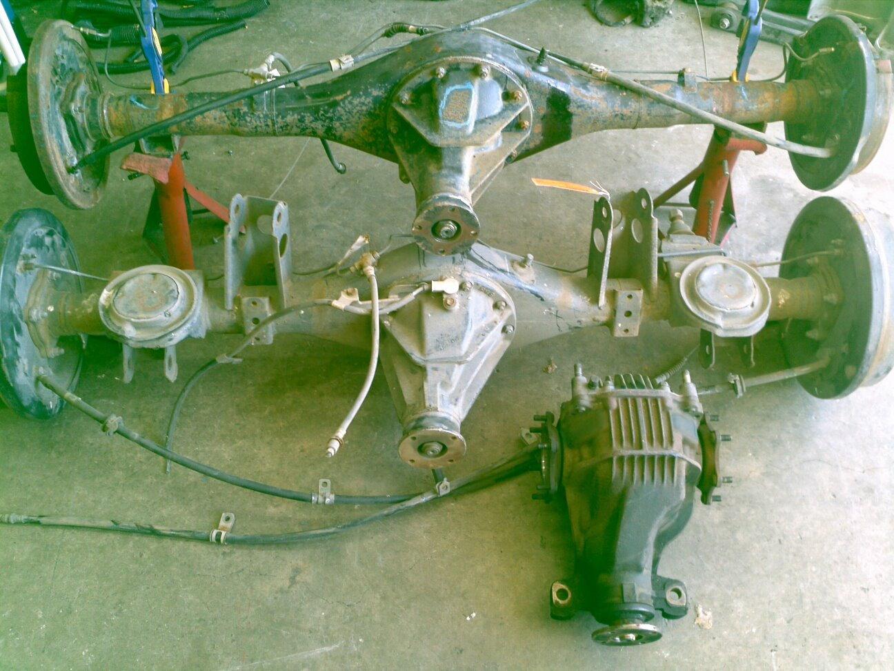 Supra rear end