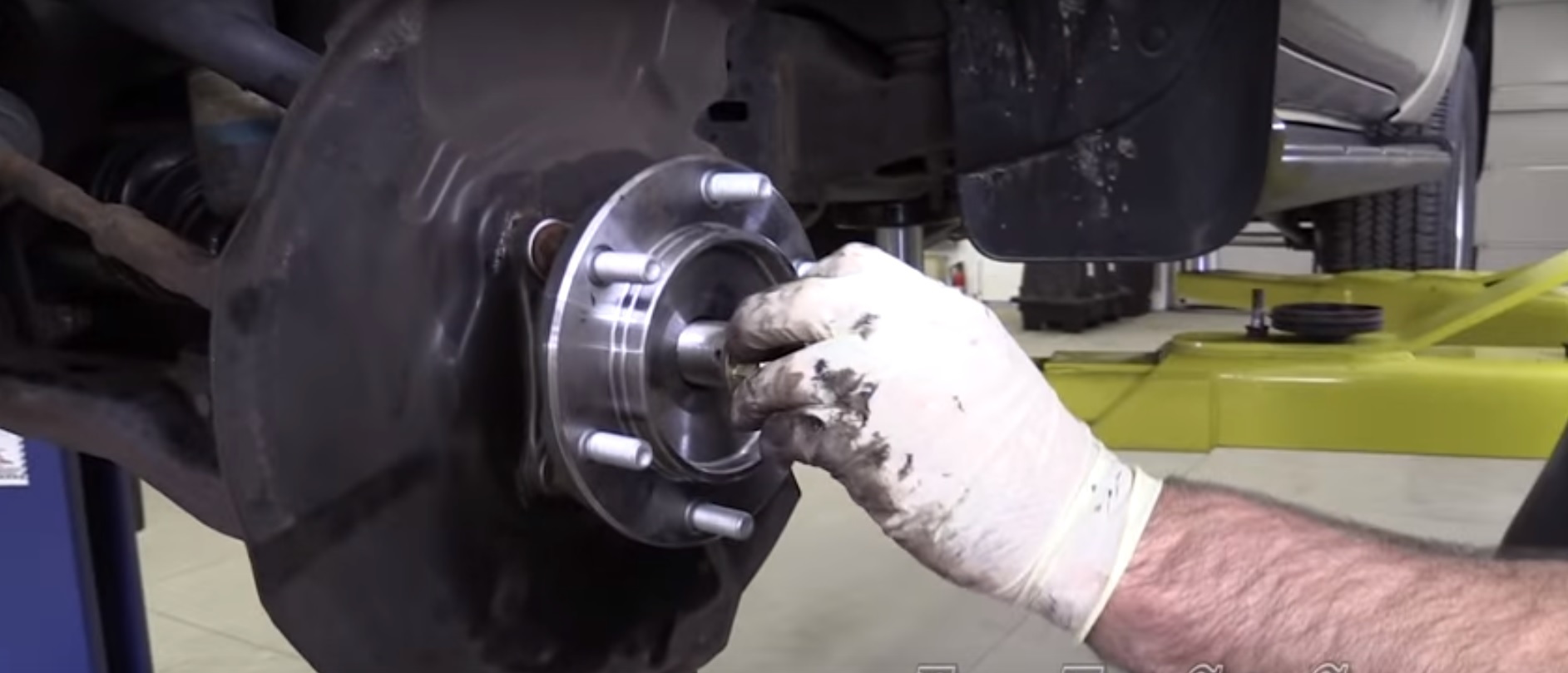 toyota 4runner wheel bearing hub DIY how to