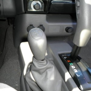 4WD lever