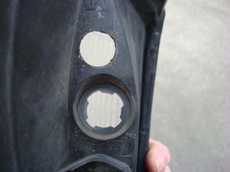 modifying socket hole