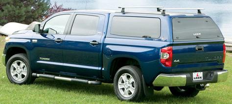 Leer camper shell for Toyota