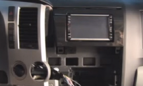 installed radio