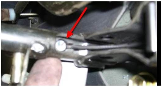 TOYOTA TACOMA TUNDRA 4RUNNER PARKING BRAKE CABLE ADJUST REPLACE REMOVE HOW TO INSTRUCTIONS