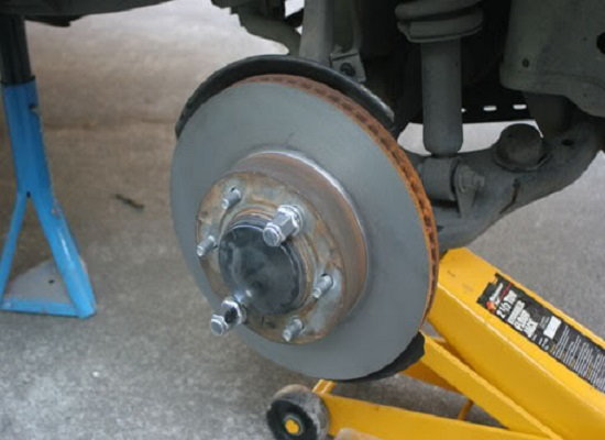 Toyota Tacoma 4runner Tundra brake upgrade 231mm caliper rotor pad how to DIY replacement