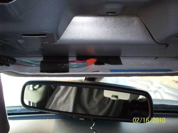 toyota tacoma hardwire radar detector install DIY