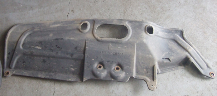 Toyota 4Runner fuel filter shield