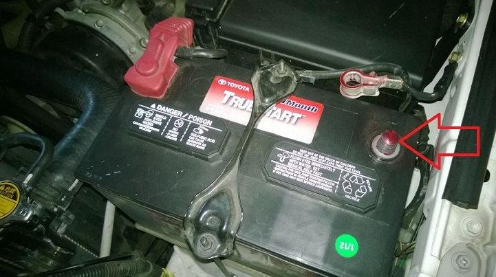 Toyota 4Runner battery