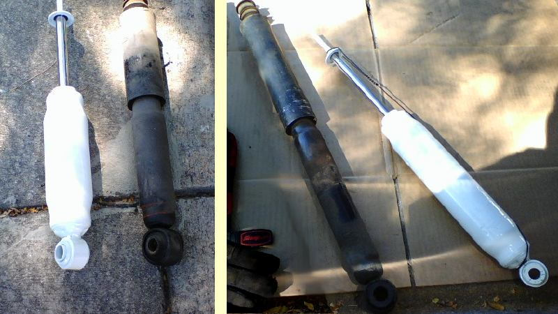 Toyota 4Runner Replacing Shock Absorbers