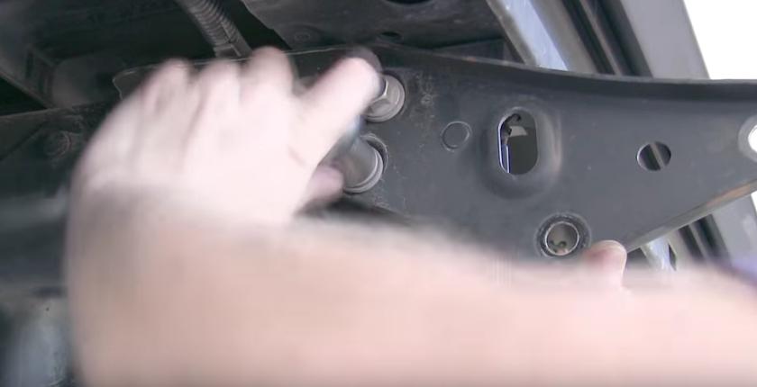 Install bumper brackets