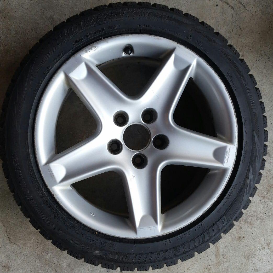 FS: 3G TL Rims With Blizzak Tires