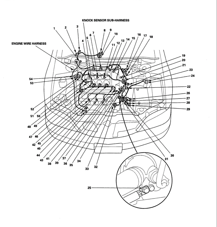 99 acura tl engine harness diagram needed - acurazine