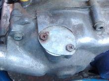 Oil pump block off plate?