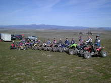 Practice group for 4hr GP,,,at Eddieville track in Goldendale, WA