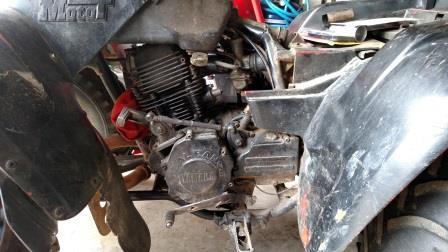 yamaha moto 4 vin number location