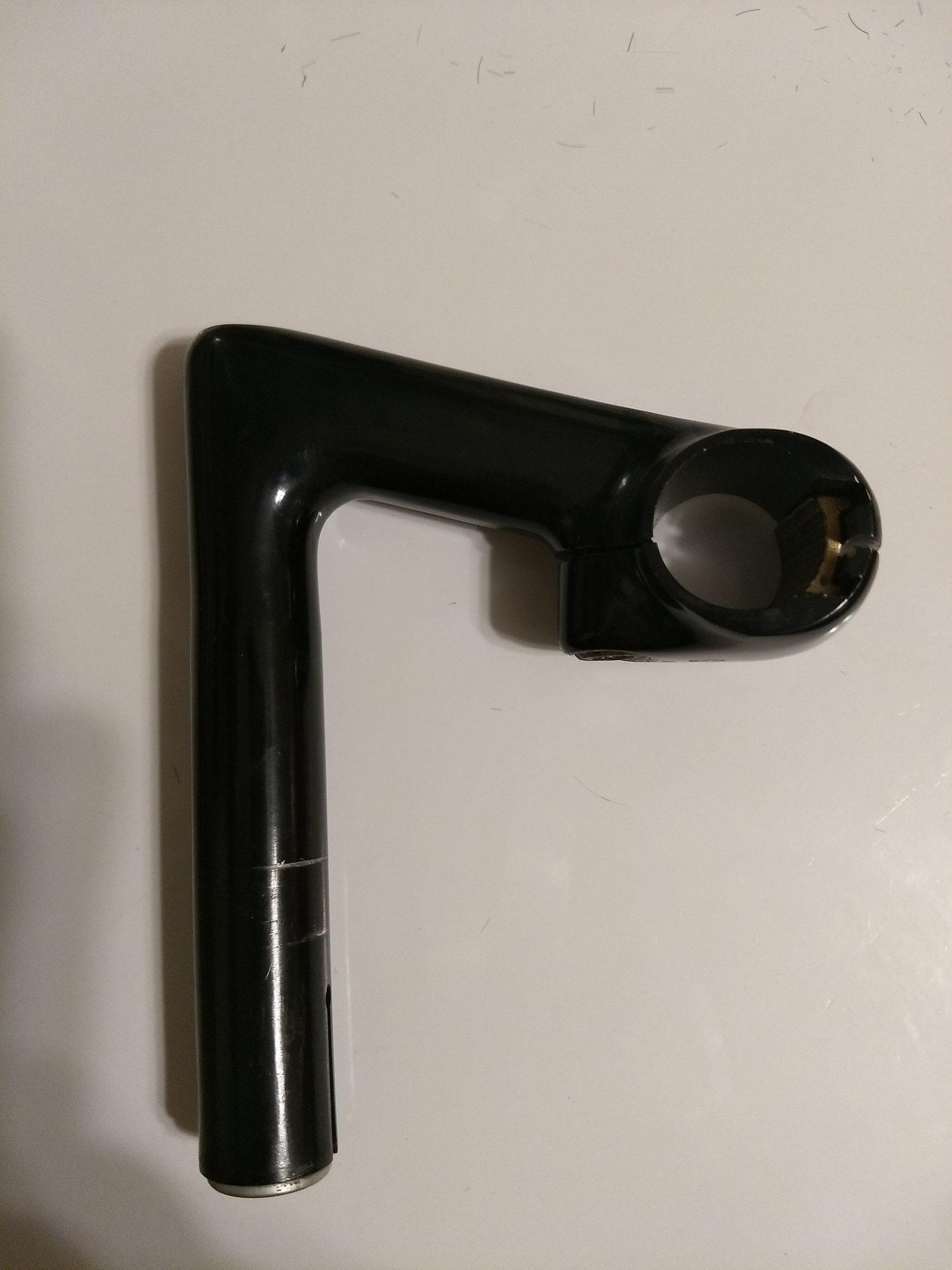 3ttt 90 degree Chromix Stem 595mm // City Handlebars 90-130mm, 25.4 clamp